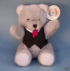 Dakin 1991 Jim Ownby Good Bears of World Founder Memorial Bear by Peggy Maxwell