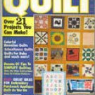Lot of 4 Vintage QUILT magazines Spring Summer Fall Winter 1980 quilters and collectors