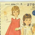 5 vintage Butterick sewing patterns from 1950's to 1970's