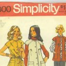 Vintage 1973 sewing patterns Simplicity misses' mixed lot  misses 10 and 14 and McCall's girls' 14