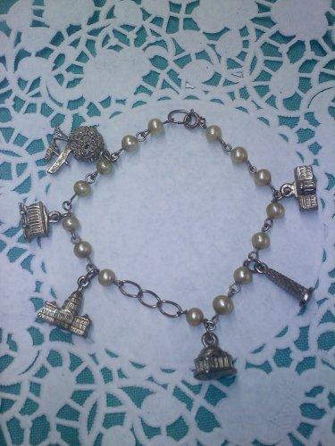 Old charm bracelet souvenir from Washington D. C.