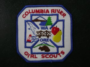 Columbia River Girl Scouts Council Patch