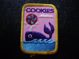Girl Scout cookie Sales Participation Patch