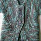 BSJ - Blue Green Cardigan Sweater