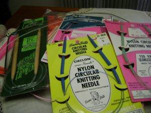 Vintage - Knitting Supplies - Circular Needles