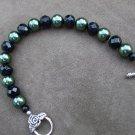 'Dark Forest' pearl bracelet