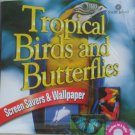 Tropical Birds and Butterflies - Screen Savers/Wallpaper