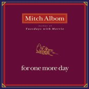 For one more day - Audio Book - CD