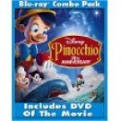 Pinocchio Blu-Ray movie with DVD copy -New-Free Shipping