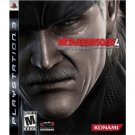 Metal Gear Solid 4 PS3 Playstation 3 Game - New - Free Shipping