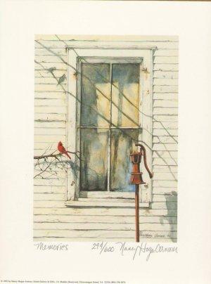 Nancy Hogan Armour s/n print Memories