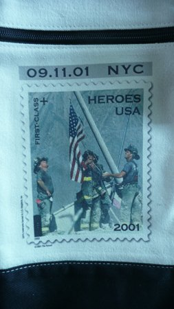 9-11-01 Heroes Tote Bag from USPS