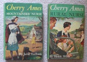 2 Cherry Ames Books: Rural Nurse and Mountaineer Nurse