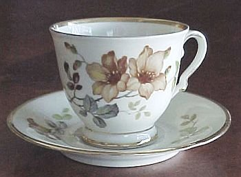 KPM Kobenhavns porcellains maleri #41 GERMAN Antique Teacup Tea Cup and Saucer FREE SHIPPING