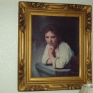 Framed Art, Young Girl
