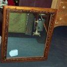 Wood Frame Rectangular Mirror