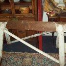 Rustic Wooden Sawhorse