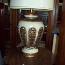 White and Gold Table Lamps