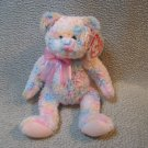 Twirls the Bear TY Beanie Baby Retired MWMT