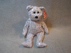 Beginning the Bear TY Beanie Baby Retired MWMT