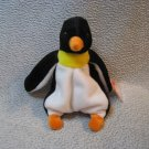 Waddle the Penguin TY Beanie Baby Retired MWMT