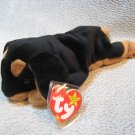 Doby the Dobermen TY Beanie Baby Retired MWMT