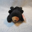 Blackie the Bear TY Beanie Baby Retired MWMT