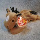 Derby the Horse TY Beanie Baby Retired MWMT