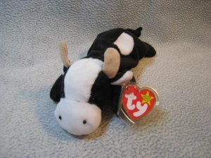 Daisy the Cow TY Beanie Baby Retired MWNMT