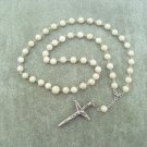 Riverstone Gemstone Orthodox Chotki Prayer Beads Silver Crucifix 50 beads