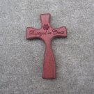 Baptized in Christ Wooden Hand-Held Childrens Baptism Cross