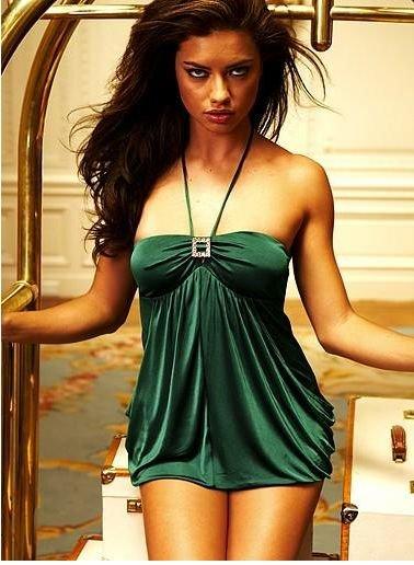 Green Moss Clubwear Short Dress