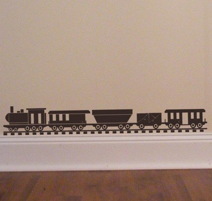 Choo Choo Train set - Vinyl Wall Decal
