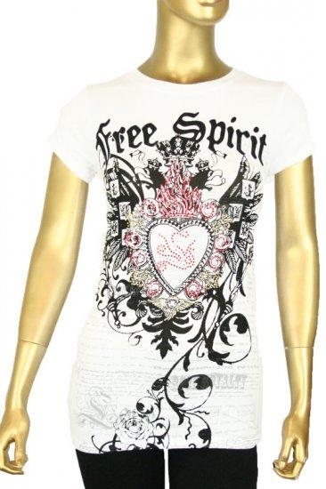 6 FREE SPIRIT design (wht)