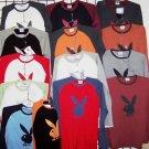 "Wholesale ""Playboy"" men's long sleeve Ts (1 CASE=48)"