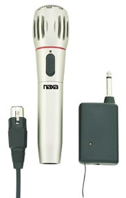 Naxa - Dynamic Wireless Professional Microphone (1 CASE=20)