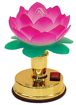 GORGEOUS LOTUS SHAPED LAMP(1 CASE=72)