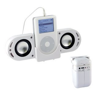 Portable Speaker System for iPod / MP3 / CD / DVD Players (1 CASE=40)
