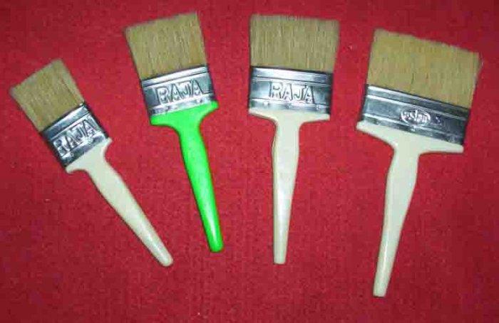 R -13 Epoxy & resin using brush