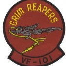 "UNITED STATES MARINE CORPS USMC GRIM REAPERS 4.5"" Round Military Patch"