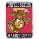 U.S. Marine Corps USMC Eagle Globe & Anchor Rectangle Patch