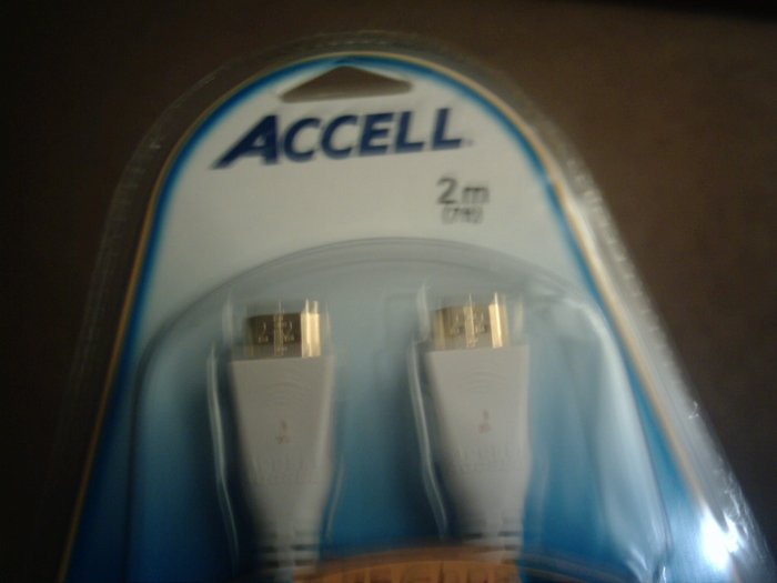ACCELL 2m HDMI 1.3 cable -36 bit Deep Color