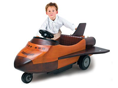 Toy Wooden Shuttle Car by Rietti FREE SHIPPING!!!!!