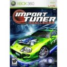 Import Tuner Challenge for Xbox 360 FREE SHIPPING!!!
