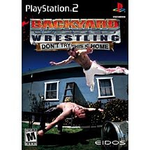 Backyard Wrestling Dont Try This at Home PS2 NEW!!! FREE SHIPPING!!!