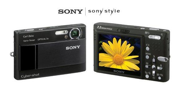 "Sony DSC-T10 - ""Black"" 7.2 MegaPixels Digital Camera with 14X Smart Zoom"
