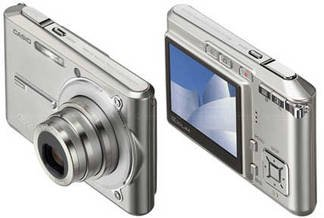 "Casio Exilim EX-S600 - 6.0 MegaPixels ""Credit Card Size"" Digital Camera FREE SHIPPING!!!"