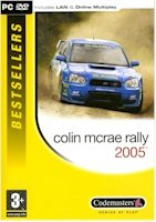 COLIN MCRAE RALLY 2005 (DVD-ROM) free shipping!!!
