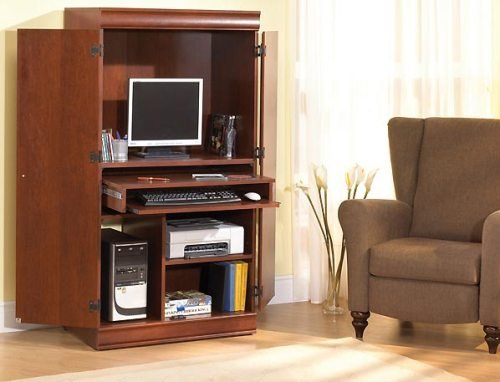 Traditional Cherrywood Collection Computer Armoire