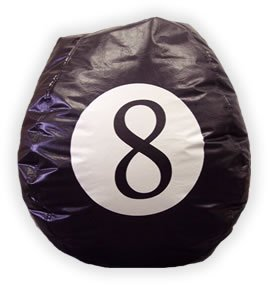 Bean Bag 8 Ball FREE SHIPPING!!!!